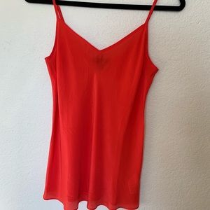 Silk jcrew cami
